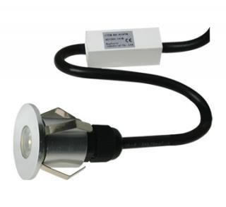 Empotrado Redondo de Aluminio LED Cree 1X1W.