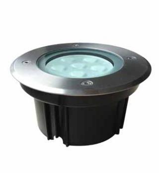Empotrado de Piso Redondo LED Cree 6X1W.