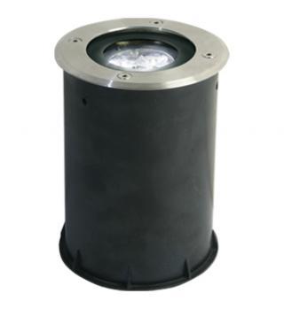 Empotrado de Piso Redondo LED Cree 3X1W.