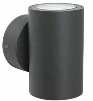Arbotante Aluminio LED Cree 6 X1W. Gris