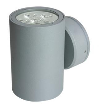 Luminario Exterior LED Cree 12W. Gris