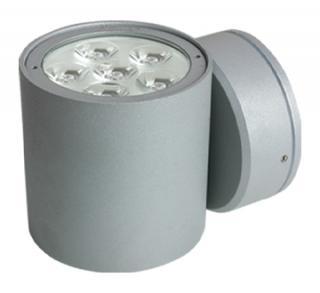 Luminario Exterior LED Cree 6W. Gris