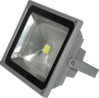 Reflector Aluminio Fundido 30W. Led.