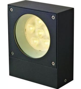 Arbotante de Aluminio Fundido LED Cree 6W. Grafito