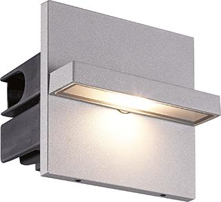 Luminario Aluminio P/empotrar en Muro LED Cree 3W.