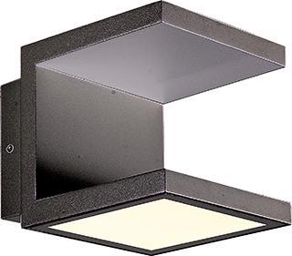 Arbotante de Aluminio para Muro Smd LED Cree 12W.