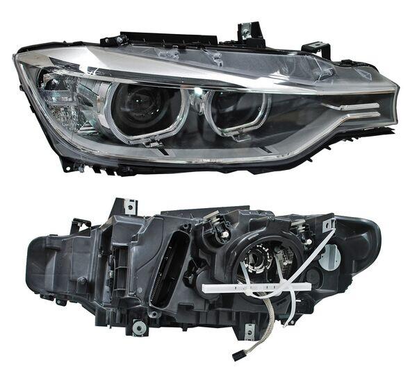 FARO BMW SERIE 3 12-15 P/XENON C/MOTOR TYC IZQ