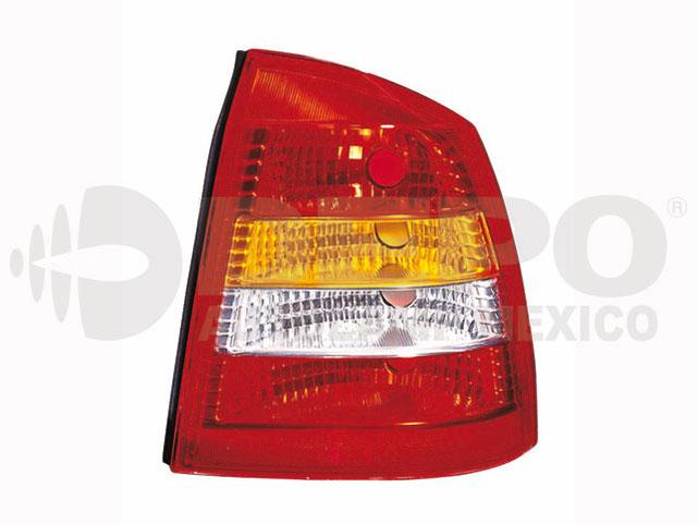 Calavera Chevrolet Astra 00-03 Der 4p Amb/bco/rjo