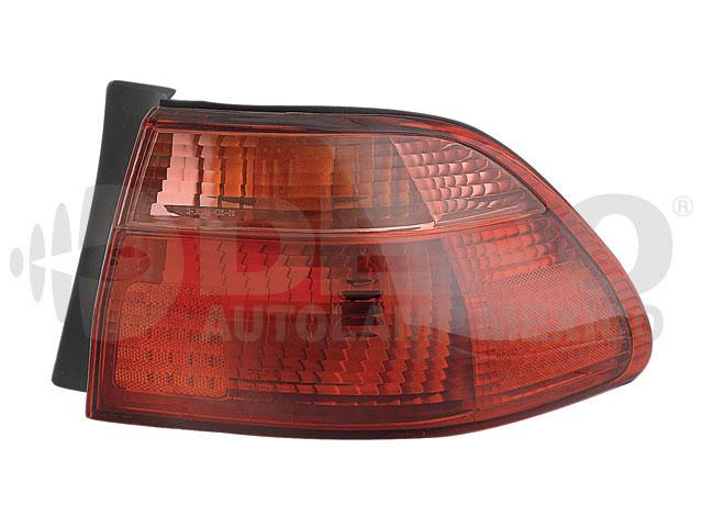Calavera Honda Accord 98-00 Ext Der 4p Rojo