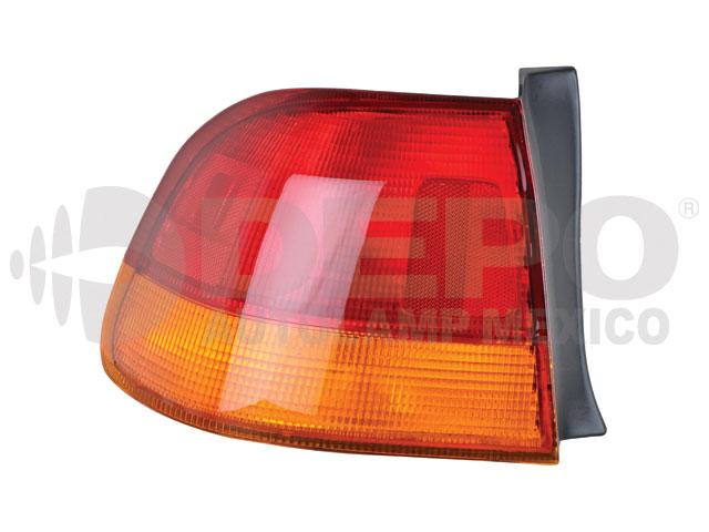 Calavera Honda Civic 96-98 Ext Izq 4p Amb/rjo S/arnes
