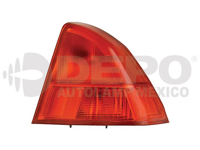 Calavera Honda Civic 01-02 Ext Der 4p Rojo