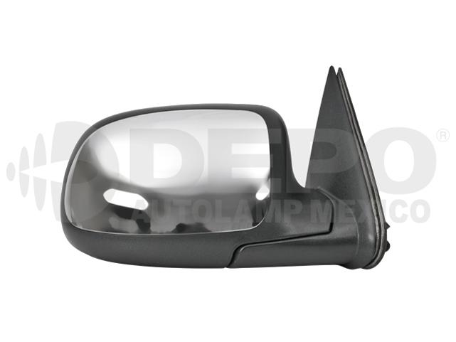Espejo Chevrolet Cheyenne/silverado 99-06 Der Manual Cromado*