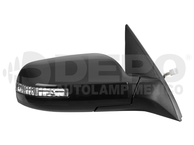 Espejo Nissan Altima 4ptas 07-12 6cil Der Electrico C/desempaÑante C/direccional P/pintar*