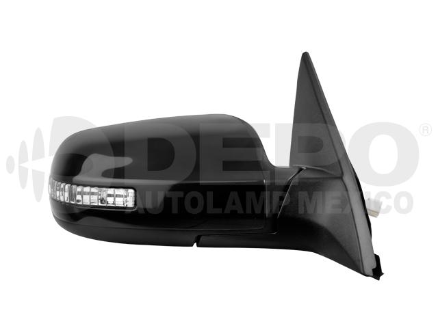 Espejo Nissan Altima 4ptas 07-12 6cil Der Electrico C/direccional P/pintar*