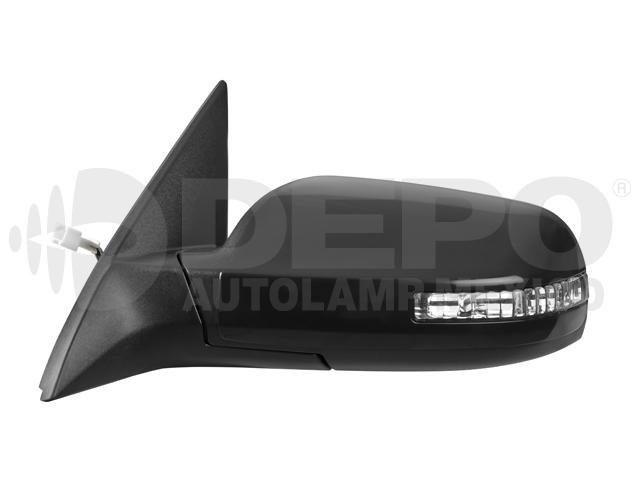 Espejo Nissan Altima 4ptas 07-12 6cil Izq Electrico C/desempaÑante C/direccional P/pintar*