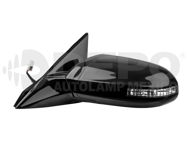 Espejo Nissan Maxima 09-12 Izq Electrico Ngo*