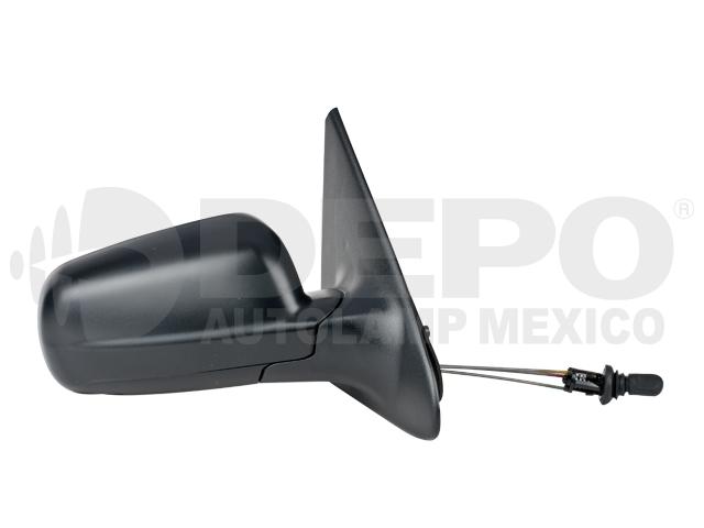 Espejo Volkswagen Pointer 2ptas 00-09 Der C/control Corrugado Ngo*