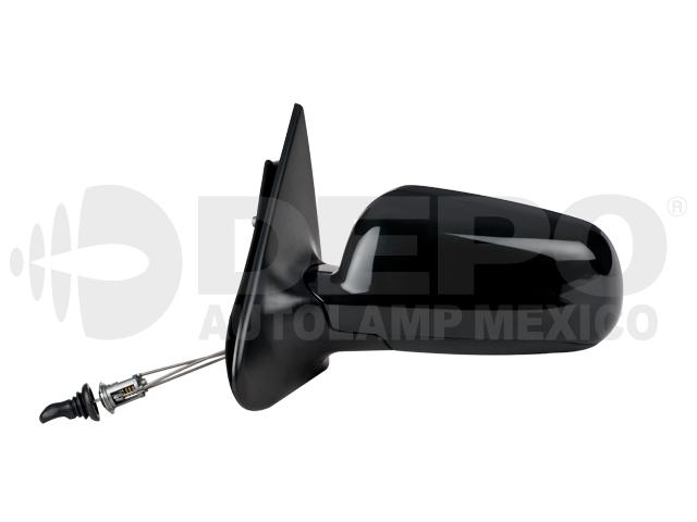 Espejo Volkswagen Pointer 4ptas 00-09 Izq C/control P/pintar *