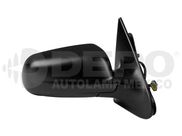Espejo Volkswagen Pointer 4ptas 00-09 Der Electrico Corrugado Ngo*