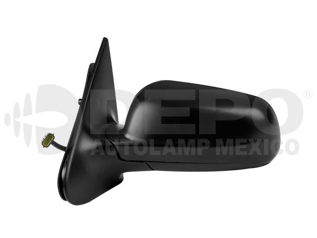 Espejo Volkswagen Pointer 4ptas 00-09 Izq Electrico Corrugado Ngo*
