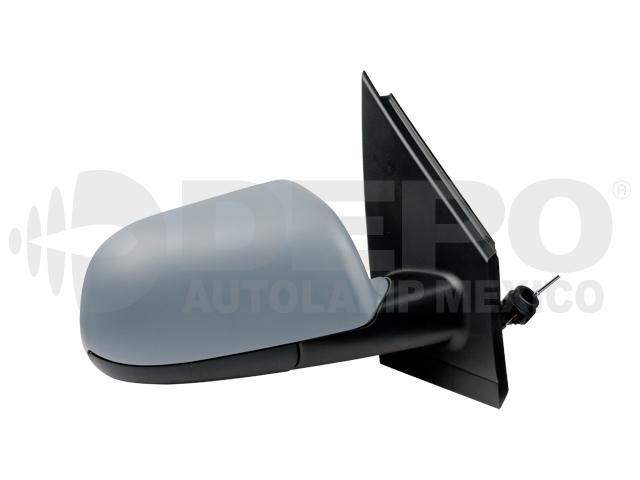 Espejo Volkswagen Polo 03-07 Der C/control P/pintar*