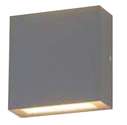 Arbotante OMEGA, LED CREE 6x1W, 540Lm, 3000K, Al Inyectado, Cristal templado