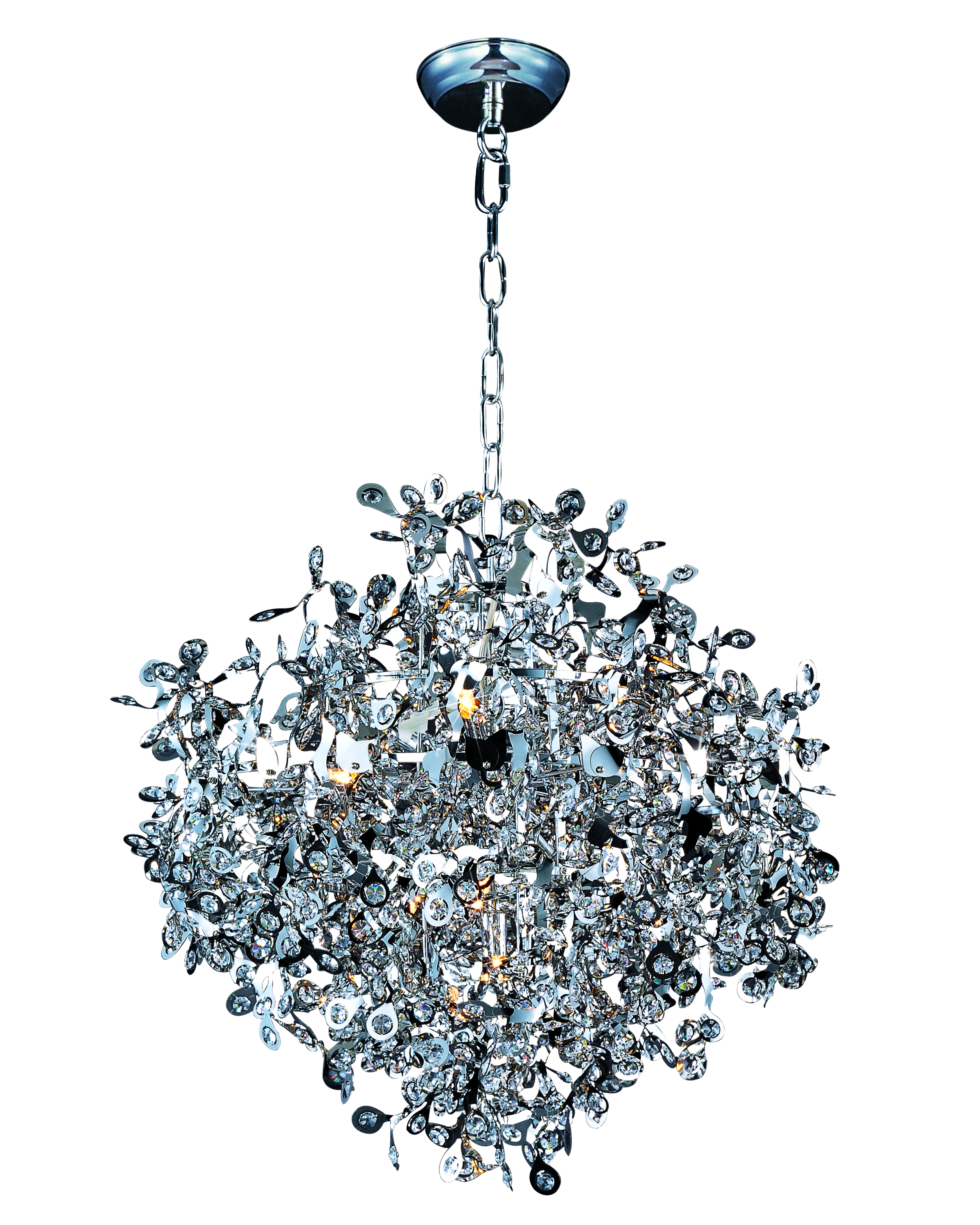 Comet 10-light pendant