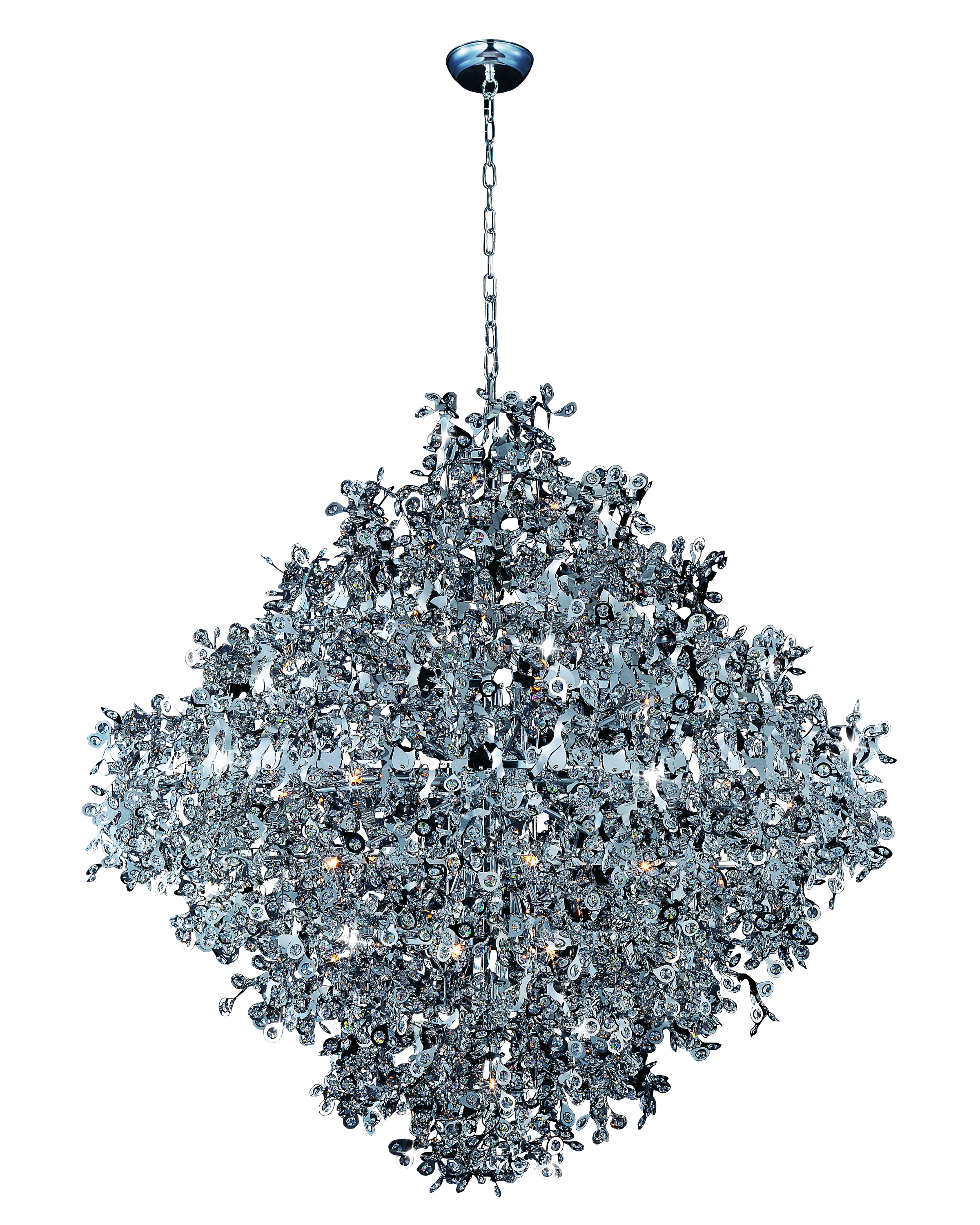 Comet 21-light pendant