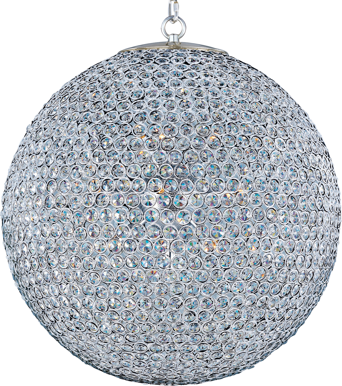Glimmer 12-light chandelier