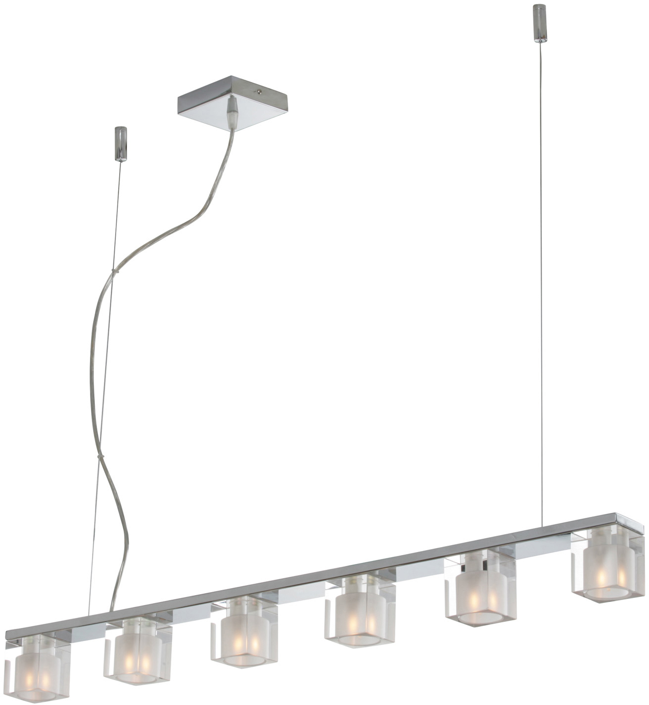 Blocs 6-Light Pendant