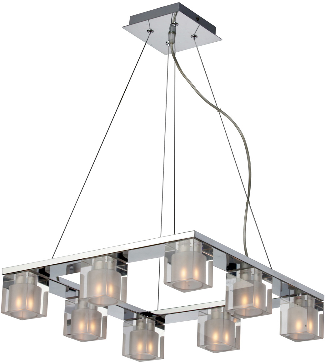 Blocs 8-Light Pendant