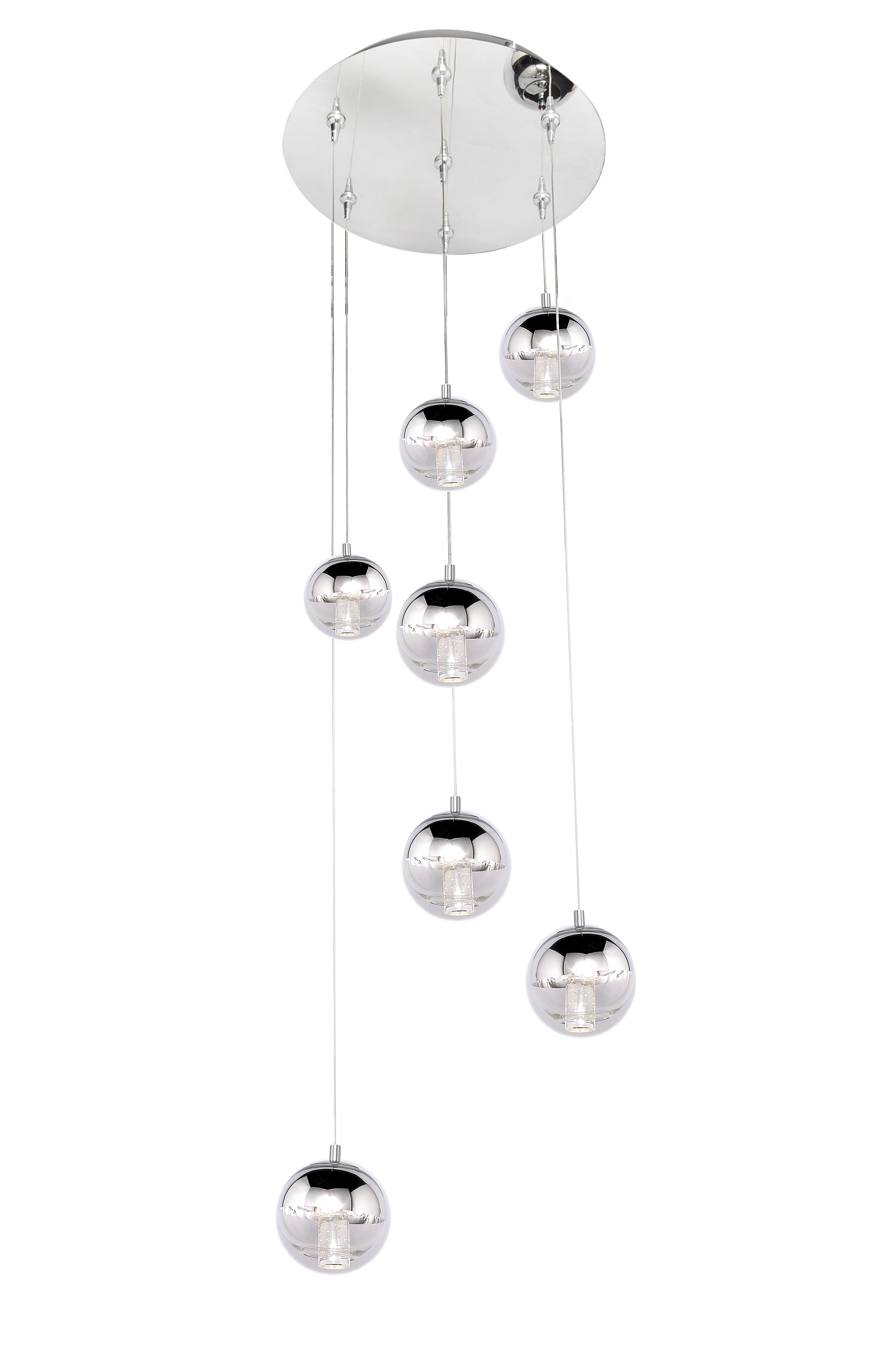 Zing 7-Light RapidJack Pendant and Canopy