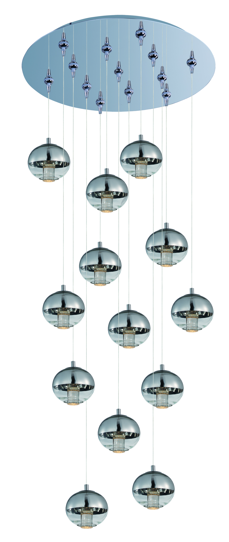 Zing 13-Light RapidJack Pendant and Canopy