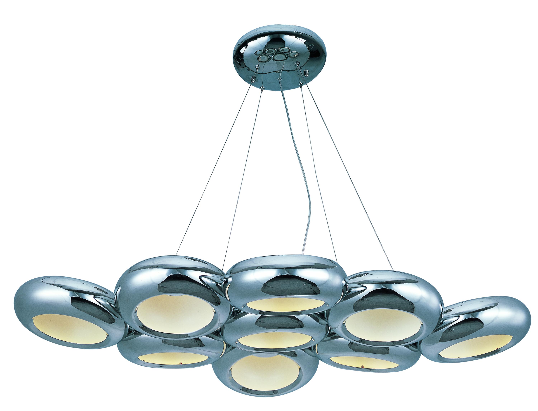 Donuts 9-Light LED Pendant