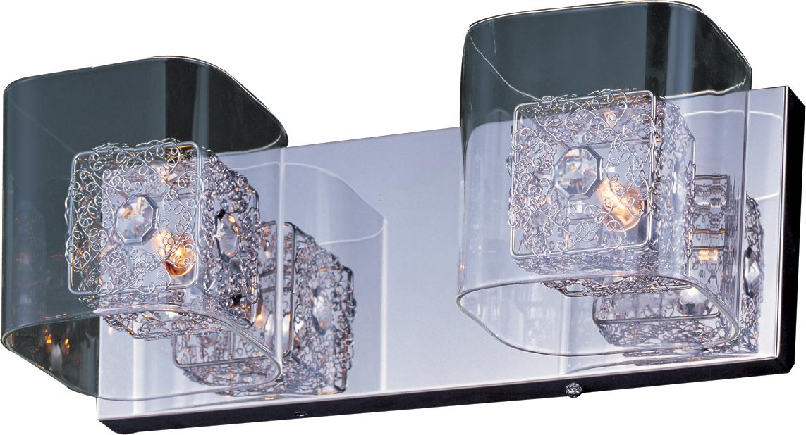 Gem 2-Light Bath Vanity with SV Shade