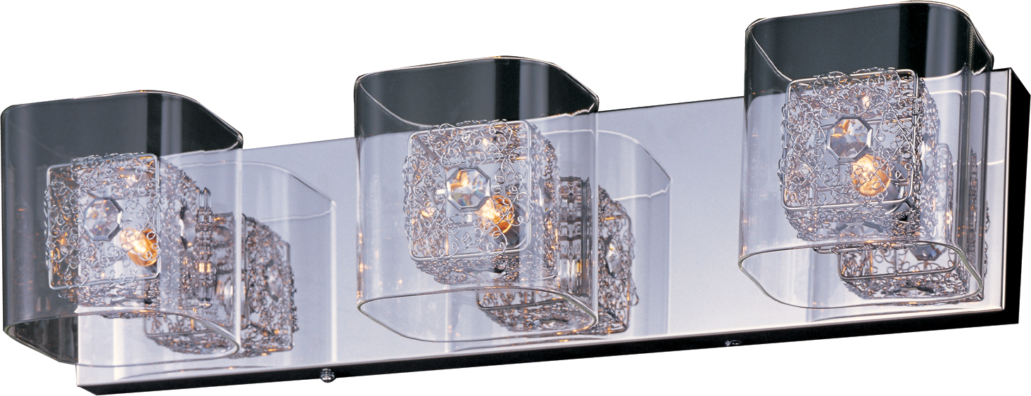 Gem 3-Light Bath Vanity with SV Shade