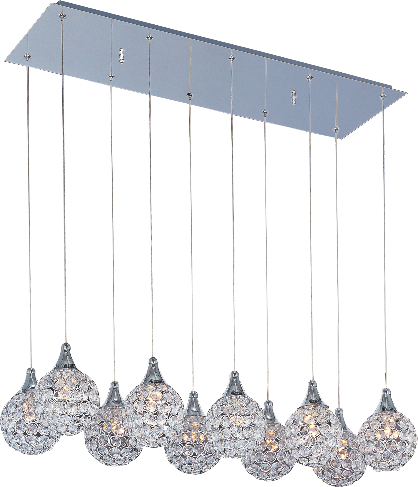 Brilliant 10-Light Pendant