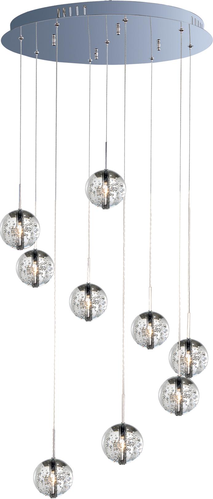 Orb 9-Light Pendant