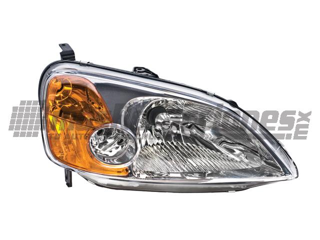 Faro Honda Civic 01-03 Der 2 Ptas