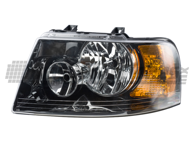 Faro Ford Expedition 03-06 Izq Fondo Negro