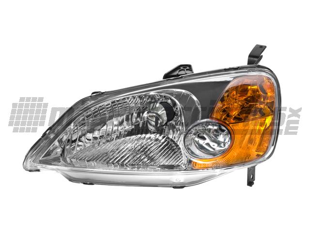 Faro Honda Civic 01-03 Izq 4 Ptas