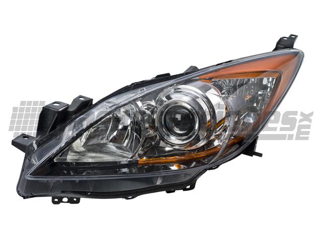 Faro Mazda 3 10-11 Izq 4 Ptas
