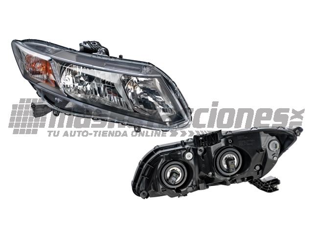 Faro Honda Civic 13-14 Der 2 y 4 Ptas