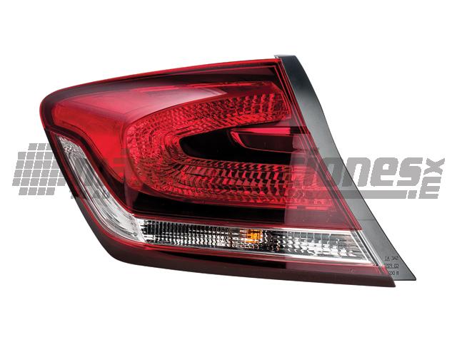 Calavera Honda Civic Ext 13-15 Izq 4p