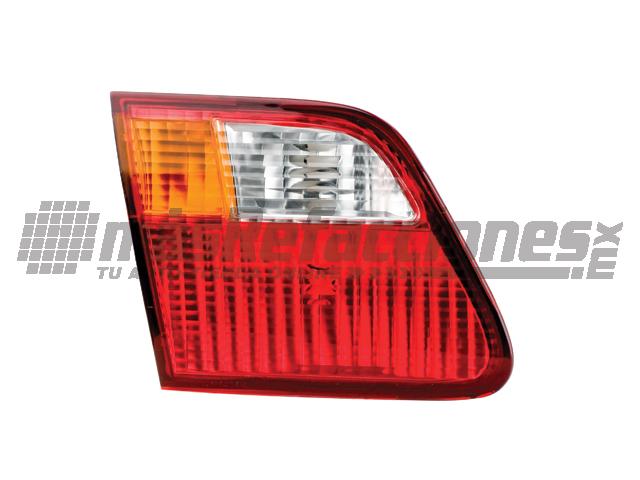 Calavera Honda Civic 99-00 Int Izq 4p Amb/bco/rjo