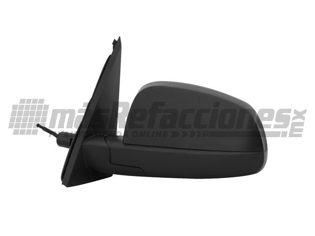 Espejo Chevrolet Meriva 04-08 Izq C/control Corrugado Ngo*