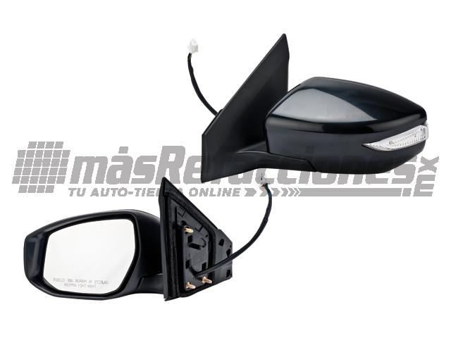 Espejo Nissan Sentra 13-15 Izq Elec C/des C/dire P/pintar
