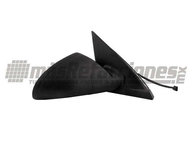 Espejo Chevrolet Malibu 04-07 Der Electrico S/desempaÑante Corrugado Negro