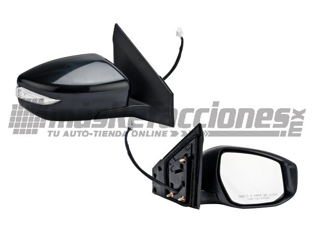 Espejo Nissan Sentra 13-15 Der Elec C/des C/dire P/pintar