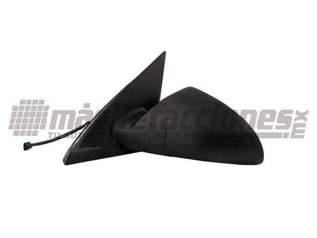 Espejo Chevrolet Malibu 04-07 Izq Electrico S/desempaÑante Corrugado Negro